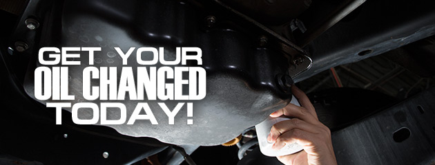 Remember to get your Oil Changed Today!